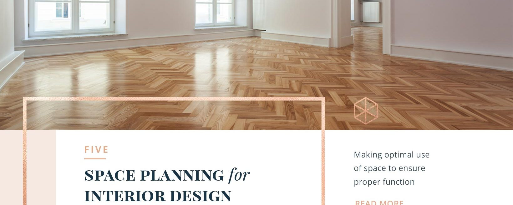 FIVE: Space Planning for Interior Design