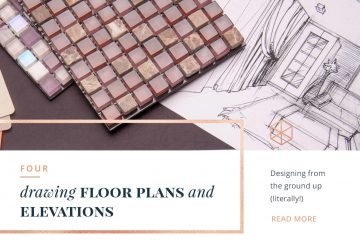 drawing floor plans and elevations