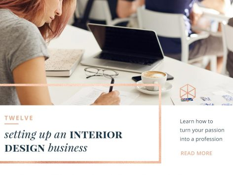 twelve setting up an interior design business