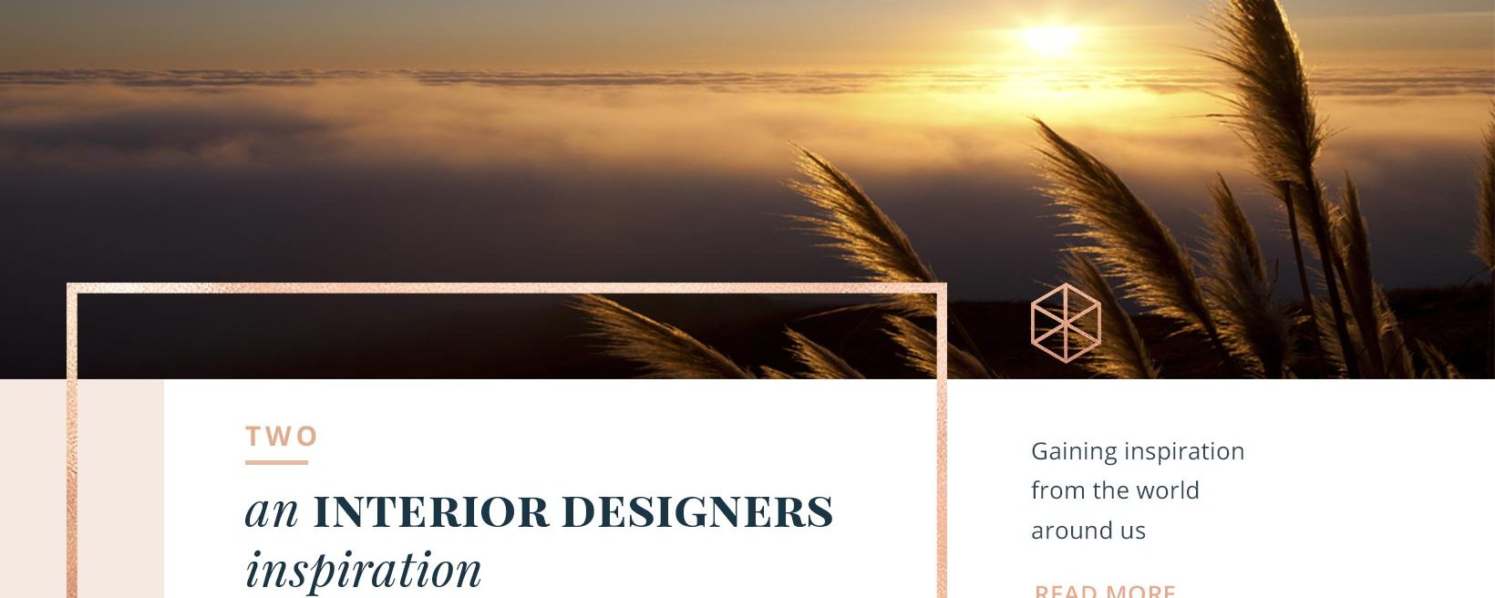TWO: An Interior Designers Inspiration